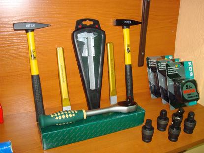 Εικόνα της Διάφορα εργαλεία χειρός